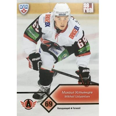 МИХАИЛ УСТЬЯНЦЕВ (Автомобилист) 2012-13 Sereal КХЛ 5 сезон