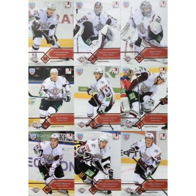 ДИНАМО (Рига) комплект 18 карточек 2012-13 Sereal КХЛ 5 сезон.