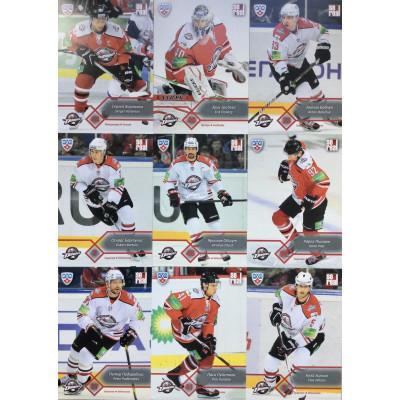 ДОНБАСС (Донецк) комплект 18 карточек 2012-13 SeReal КХЛ 5 сезон.