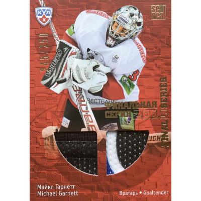 МАЙКЛ ГАРНЕТТ (Трактор) 2013-14 Sereal КХЛ Финальная серия 2013