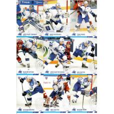 НЕФТЕХИМИК (Нижнекамск)  комплект 9 карточек 2014-15 SeReal КХЛ 7 сезон.