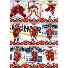 ВИТЯЗЬ (Московская область) комплект 18 карточек 2016-17 SeReal КХЛ 9 сезон.