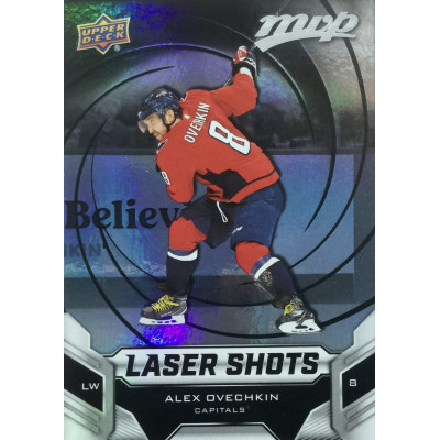 АЛЕКСАНДР ОВЕЧКИН (Вашингтон) 2019-20 UD MVP Laser Shot