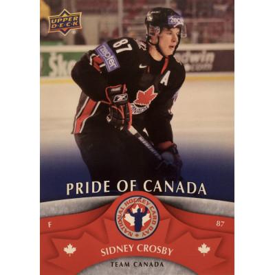 СИДНИ КРОСБИ (Канада) 2013 UD National Hockey Card Day