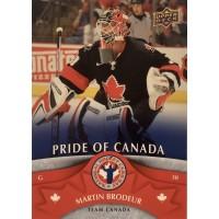 МАРТИН БРОДЕР (Канада) 2013 UD National Hockey Card Day