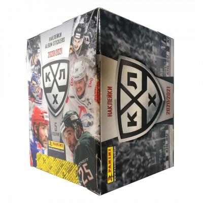 1 блок наклеек (50 пакетиков) 2020-21 Panini КХЛ 13 сезон