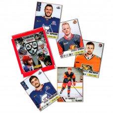 1 пакетик с наклейками (5 шт. штук в каждом) 2020-21 Panini КХЛ 13 сезон