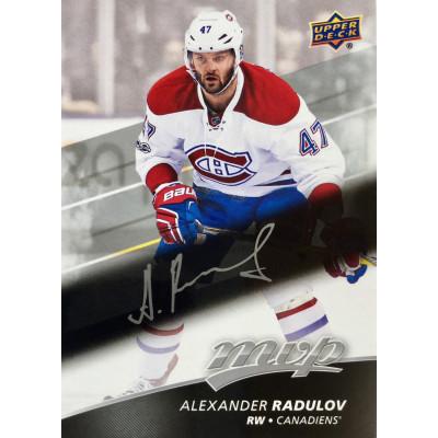 АЛЕКСАНДР РАДУЛОВ (Монреаль Канадиенс) 2017-18 UD MVP