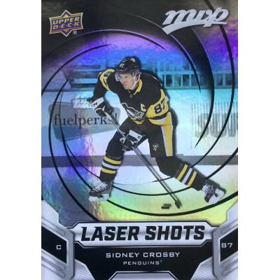 СИДНИ КРОСБИ (Питтсбург) 2019-20 UD MVP Laser Shots