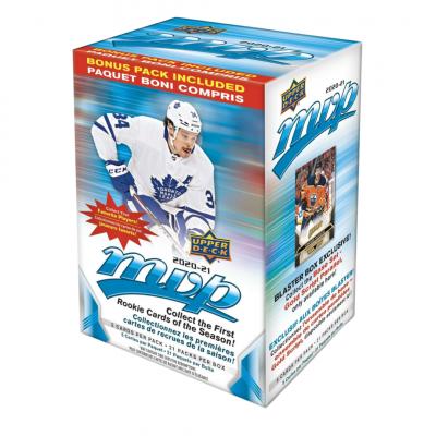 1 блок (21 пакетик) по коллекции 2020-21 UD MVP Blaster Box