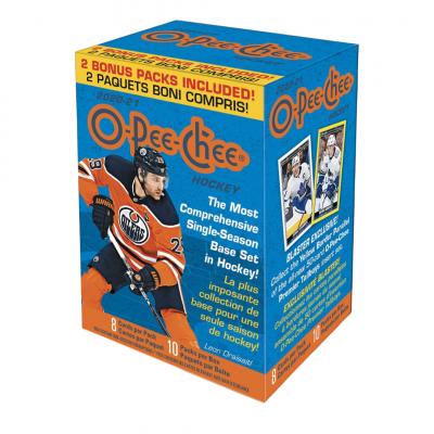 1 блок (10 пакетиков) по коллекции 2020-21 UD O-Pee-Chee Blaster Box