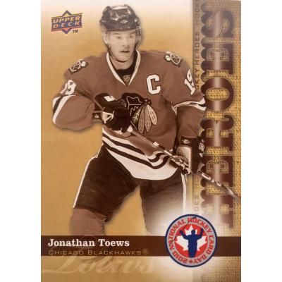 ДЖОНАТАН ТЭЙВЗ (Чикаго) 2010 UD National Hockey Card Day