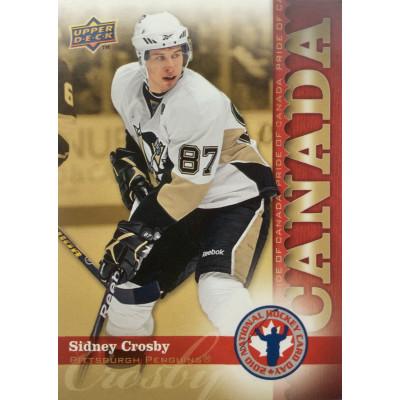 СИДНИ КРОСБИ (Питтсбург) 2010 UD National Hockey Card Day