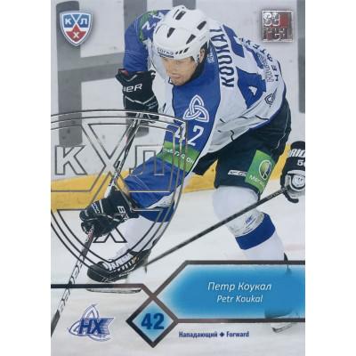 ПЕТР КОУКАЛ (Нефтехимик) 2012-13 Sereal КХЛ (5 сезон) silver